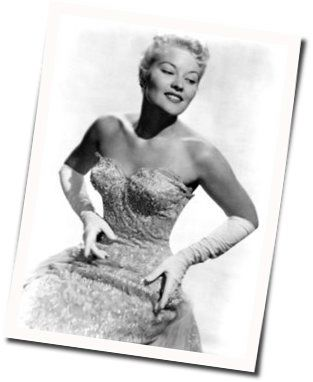 Patti Page chords for That old feeling