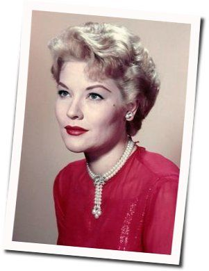 Patti Page chords for The days of wine and roses