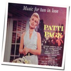 Patti Page chords for They cant take that away from me
