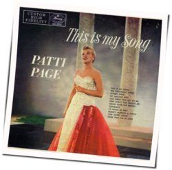 Patti Page chords for This is my song