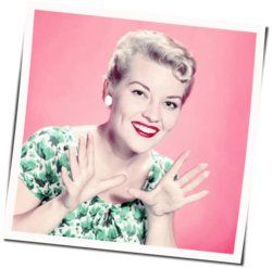 Patti Page chords for Under a blanket of blue