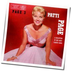 Patti Page chords for Until the real thing comes along