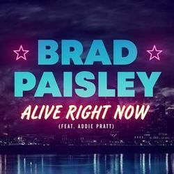 Brad Paisley chords for Alive right now