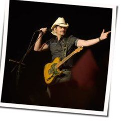 Brad Paisley chords for Bucked off
