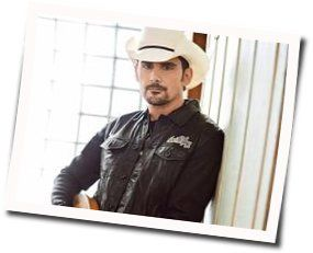 Brad Paisley chords for Bucked off acoustic