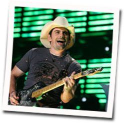 Brad Paisley chords for Camouflage