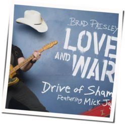 Brad Paisley chords for Drive of shame