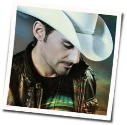 Brad Paisley chords for Facebook friends