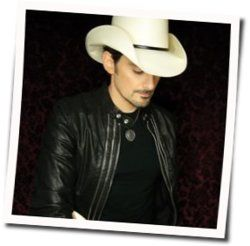 Brad Paisley chords for I wish youd stay
