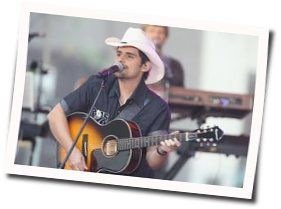 Brad Paisley tabs for If love was a plane