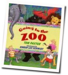 Tom Paxton chords for Going to the zoo
