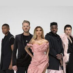 Pentatonix chords for Coffee in bed