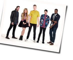 Pentatonix chords for Love you for a long time