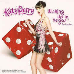 Katy Perry tabs for Waking up in vegas