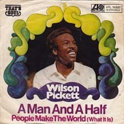 Wilson Pickett chords for People make the world