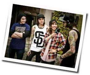 Pierce The Veil tabs for The new national anthem