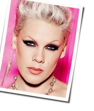 P!nk chords for I dont believe you acoustic