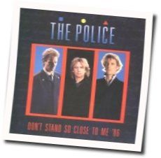 The Police guitar chords for Dont stand so close to me
