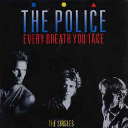 The Police guitar chords for Every breath you take (Ver. 3)