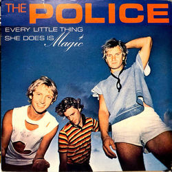 The Police bass tabs for Every little thing she does is magic