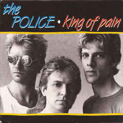 The Police guitar chords for King of pain