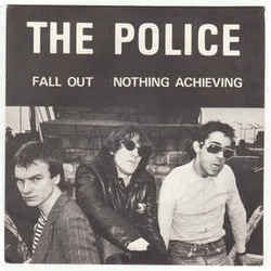The Police guitar chords for Nothing achieving