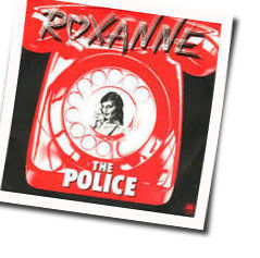 The Police tabs for Roxanne acoustic