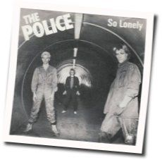 The Police guitar chords for So lonely