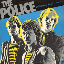The Police guitar chords for Walking on the moon