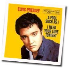 Elvis Presley chords for A fool such as i