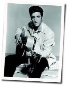 Elvis Presley chords for Blowing in the wind