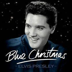 Elvis Presley chords for Blue christmas