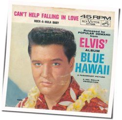 Elvis Presley chords for Cant help falling in love (Ver. 4)