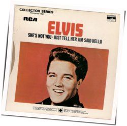 Elvis Presley bass tabs for Just tell her jim said hello