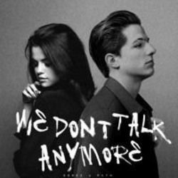 Charlie Puth guitar chords for We dont talk anymore