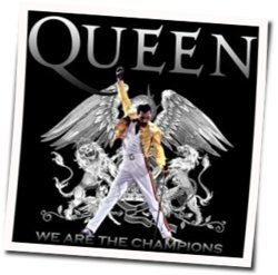 Queen guitar chords for We are the champions (Ver. 3)