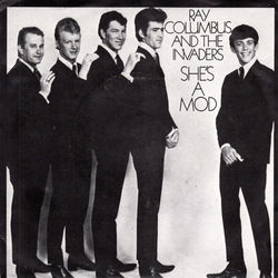Ray Columbus And The Invaders guitar chords for Shes a mod