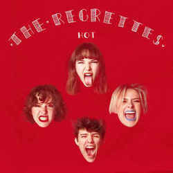 The Regrettes chords for Hot