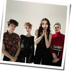 The Regrettes chords for How do you fall out of love