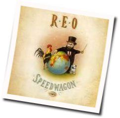 Reo Speedwagon chords for Love is a rock