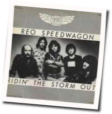 Reo Speedwagon chords for Riding the storm out