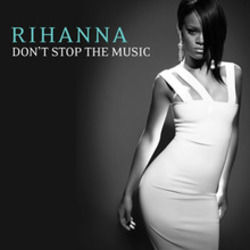 Rihanna bass tabs for Dont stop the music