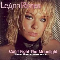 LeAnn Rimes chords for Cant fight the moonlight
