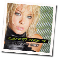 LeAnn Rimes chords for I need you