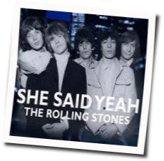 The Rolling Stones tabs for She said yeah