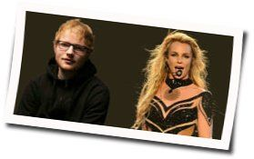 Ed Sheeran guitar chords for Baby one more time