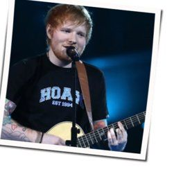 Ed Sheeran guitar chords for Candle in the wind