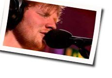 Ed Sheeran tabs for I see fire live