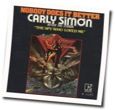 Carly Simon chords for Nobody does it better