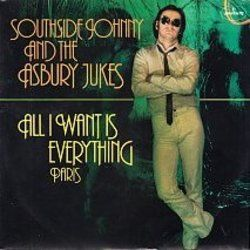 Southside Johnny And The Asbury Jukes chords for Paris